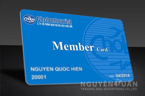 in thẻ thành viên