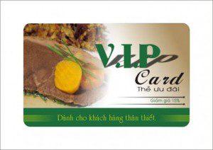 In thẻ ưu đãi, giảm giá, khuyến mãi