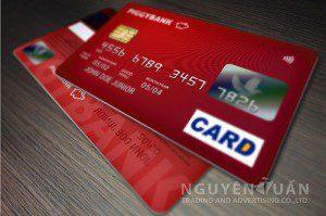 in thẻ ngân hàng, thẻ atm