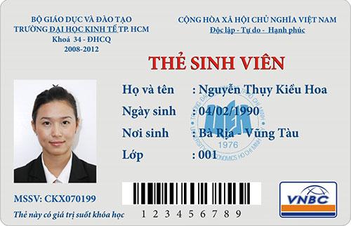 in thẻ nhựa sinh viên giá rẻ TPHCM