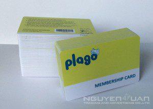in thẻ thành viên membership card