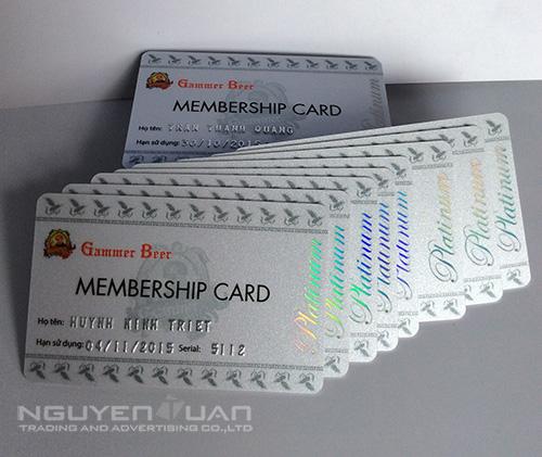 in thẻ vip card giá rẻ tphcm
