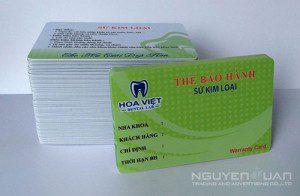 Công ty chuyên in thẻ nhựa quận 10 TPHCM