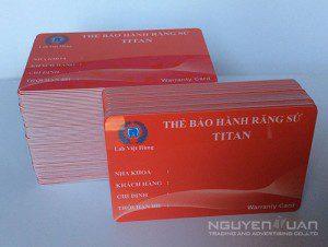 Công ty chuyên in thẻ nhựa quận 4 TPHCM