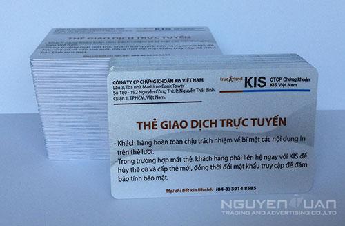 Công ty chuyên in thẻ nhựa quận 5 TPHCM