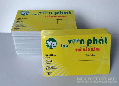 Công ty chuyên in thẻ nhựa quận Phú Nhuận TPHCM
