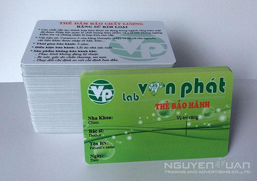 Công ty chuyên in thẻ nhựa quận Tân Bình TPHCM