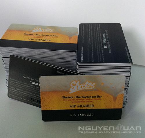 Công ty chuyên in thẻ nhựa quận Tân Phú TPHCM
