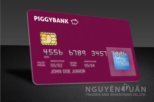 In thẻ ngân hàng cao cấp ở TPHCM