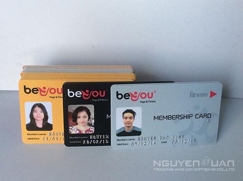 In thẻ membership card cao cấp ở TPHCM