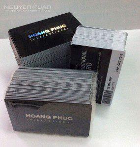 In thẻ nhựa thành viên chất lượng cao, bền đẹp TPHCM