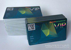 In thẻ nhựa vip chất lượng cao, bền đẹp TPHCM