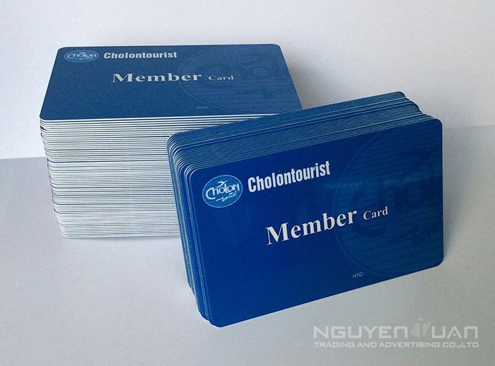 In thẻ nhựa chất lượng cao, bền đẹp TPHCM