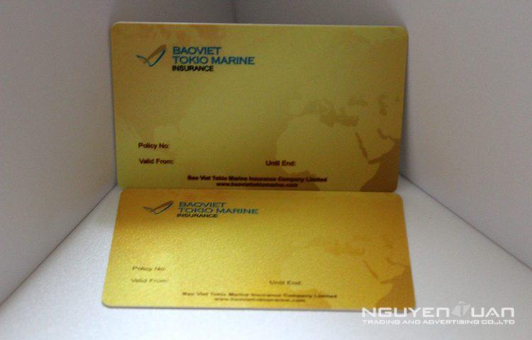 Cty Nguyên Tuấn in thẻ nhựa thẻ vip chất lượng cao