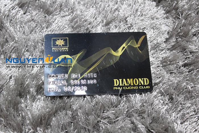 Thẻ nhựa Diamon