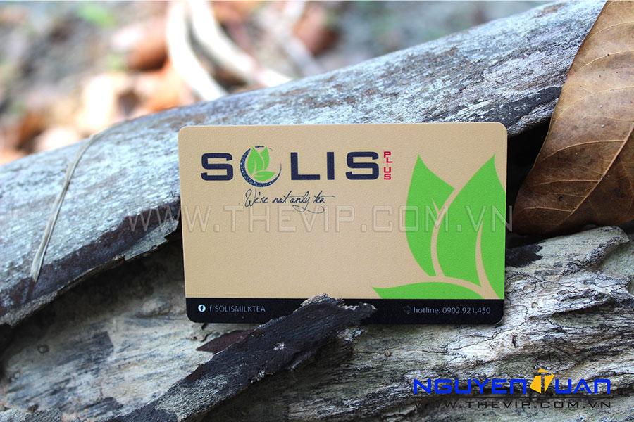 In thẻ nhựa Solic