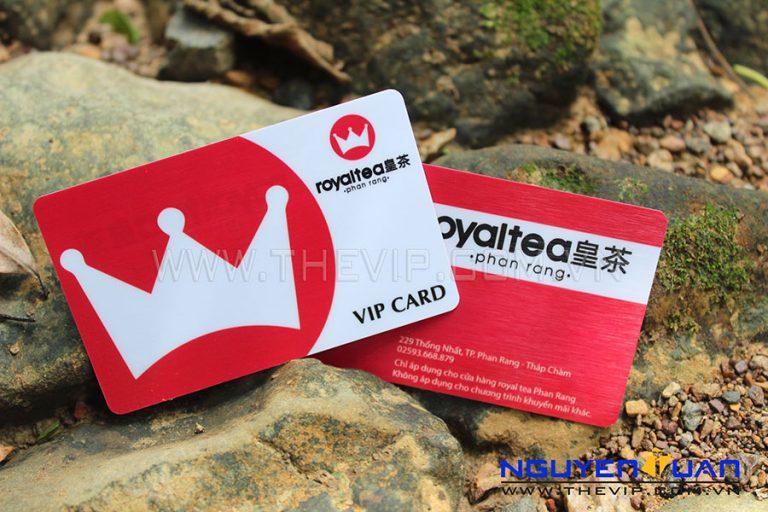 In vip card PVC