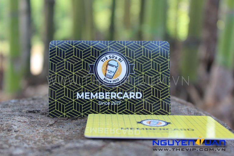 In thẻ thành viên vip